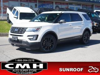 Used 2017 Ford Explorer XLT  TECH-PKG NAV ROOF LEATH HTD-SEATS for sale in St. Catharines, ON