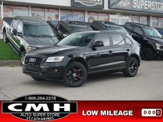 Used 2016 Audi Q5 2.0T Quattro Komfort  RAIN-SENS HTD-SEATS P/GATE for sale in St. Catharines, ON