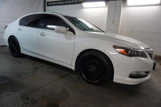 Used 2014 Acura RLX AWS TECH Pkg CERTIFIED NAVI CAMERA SUNROOF SHIFTERS BLUETOOTHAWS *ACCIDENT FREE* BRAKE HOLD for sale in Milton, ON