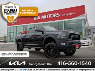 Used 2018 RAM 2500 POWER WAGON | 1 OWNR | SUNROOF | NAV | HTD SEATS for sale in Georgetown, ON