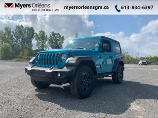 Used 2019 Jeep Wrangler Sport S  - Aluminum Wheels for sale in Orleans, ON