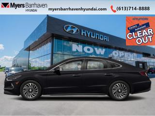 New 2022 Hyundai Sonata Hybrid Ultimate  -  Cooled Seats - $256 B/W for sale in Nepean, ON