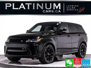 Used 2021 Land Rover Range Rover Sport SVR, 5.0L V8, 575HP, SUPERCHARGED, KEYLESS for sale in Toronto, ON