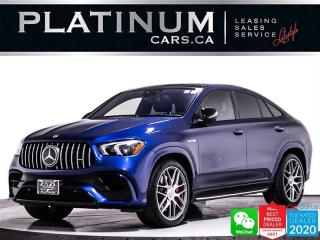 Used 2021 Mercedes-Benz GLE-Class AMG GLE63 S COUPE, 603HP, NIGHT PKG, INTELL. PKG for sale in Toronto, ON