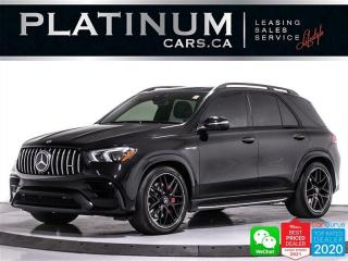 Used 2021 Mercedes-Benz GLE-Class AMG GLE63 S, 603HP, BITURBO,PREMIUM PKG, NIGHT PKG for sale in Toronto, ON