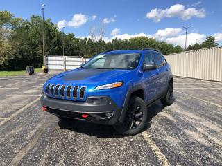 Used 2018 Jeep Cherokee Trailhawk 4WD for sale in Cayuga, ON