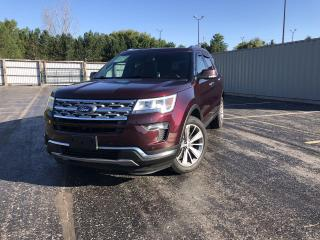 Used 2018 Ford Explorer Limited 4WD for sale in Cayuga, ON