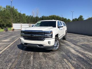 Used 2018 Chevrolet Silverado 1500 HIGH COUNTRY CREW 4WD for sale in Cayuga, ON