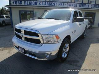 Used 2019 Dodge Ram 1500 WORK READY CLASSIC-EDITION 6 PASSENGER 5.7L - HEMI.. 4X4.. CREW-CAB.. SHORTY.. TOW SUPPORT.. BACK-UP CAMERA.. KEYLESS ENTRY.. for sale in Bradford, ON