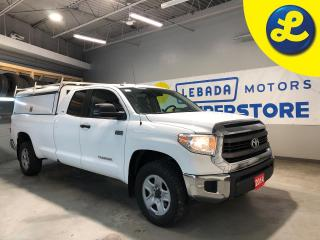 Used 2014 Toyota Tundra SR5 4X4 Double Cab LongBox 5.7L V8 * ARE Truck Cap W/ Tool Box & Racks Smart Cap * 18 275/65/18 All Terrain BF Good Rich Tires * Back Up Camera * Han for sale in Cambridge, ON
