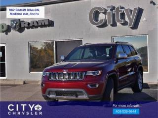 Used 2017 Jeep Grand Cherokee Limited for sale in Medicine Hat, AB