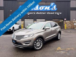 Used 2017 Lincoln MKC Reserve, Leather, Navigation, Sunroof, Reverse Camera, Remote Start & Much More! for sale in Guelph, ON
