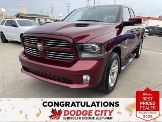 Used 2016 RAM 1500 SPORT for sale in Saskatoon, SK