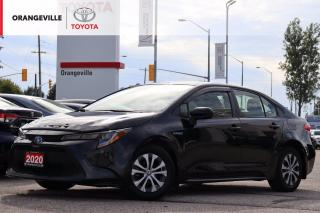 Used 2020 Toyota Corolla Hybrid LOW KMS!! HYBRID, APPLE CARPLAY, HEATED SEATS/STEERING, BLIND SPOT MONITOR, WINTER TIRES ON RIMS for sale in Orangeville, ON