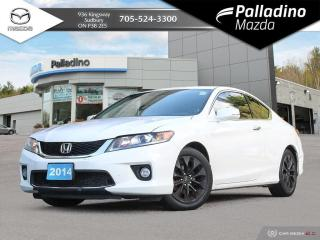 Used 2014 Honda Accord EX-L-NAVI LEATHER - NEW BRAKES for sale in Sudbury, ON