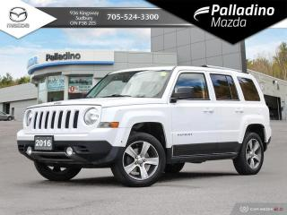 Used 2016 Jeep Patriot Sport/North HIGH ALTITUDE - 4WD for sale in Sudbury, ON