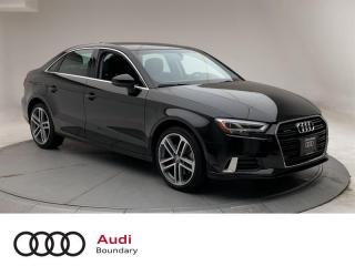 Used 2018 Audi A3 2.0T Technik quattro 6sp S tronic for sale in Burnaby, BC