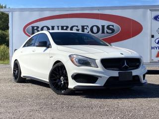 Used 2015 Mercedes-Benz CLA-Class *PADDLE SHIFTERS, LEATHER/ALCANTARA SEATS for sale in Midland, ON
