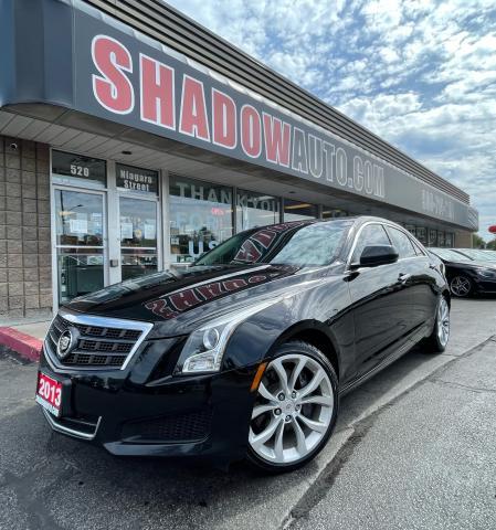 2013 Cadillac ATS ATS4| 2.0T| AWD| Local Trade| Leather| Bluetooth|