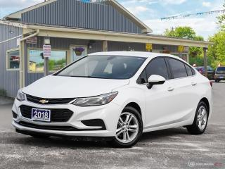 Used 2018 Chevrolet Cruze LT, REMOTE START, R/V CAM, HEATED SEATS for sale in Orillia, ON