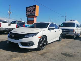 Used 2019 Honda Civic Touring*LEATHER*ONLY 34KMS*NAVI*SUNROOF*CERT for sale in London, ON