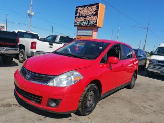 Used 2012 Nissan Versa S*AUTO*HATCHBACK*GREAT ON FUEL*CERTIFIED for sale in London, ON