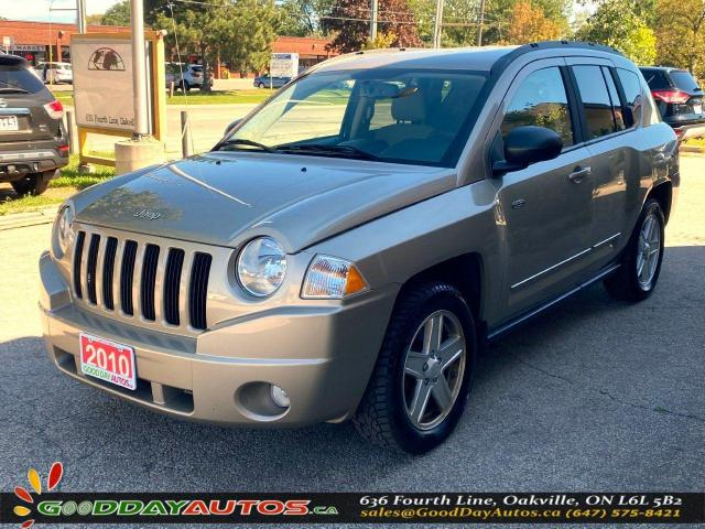 2010 Jeep Compass North|ONE OWNER|LOW KM|NO ACCIDENT|4WD|CERTIFIED