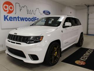 Used 2018 Jeep Grand Cherokee Trackhawk for sale in Edmonton, AB