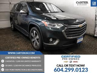 Used 2018 Chevrolet Traverse 3LT for sale in Burnaby, BC