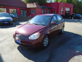 Used 2010 Hyundai Accent GL/ SUPER CLEAN / A/C / PWR GROUP / LOW KM / 4CYL for sale in Scarborough, ON