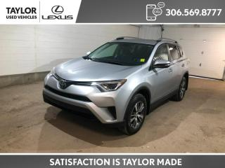 Used 2018 Toyota RAV4 LE AWD! HEATED SEATS, BACK UP CAMERA, TOYOTA SAFETY SENSE for sale in Regina, SK
