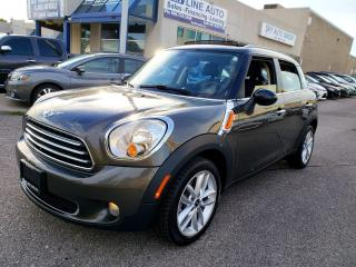 Used 2014 MINI Cooper Countryman Cooper PANORAMIC ROOF|LOW KMS|ALLOYS|CERTIFIED for sale in Concord, ON