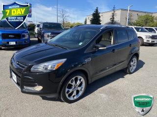 Used 2016 Ford Escape Titanium | CLEAN CARFAX | ALLOYS | REVERSE CAMERA AND SENSING | for sale in Barrie, ON