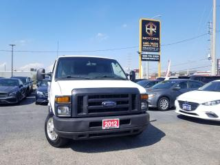 Used 2012 Ford Econoline E-150 Commercial   Certified for sale in Brampton, ON