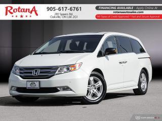 Used 2012 Honda Odyssey Touring w/Navi_Blind Spot _DVD_Sunroof_8 Seats for sale in Oakville, ON
