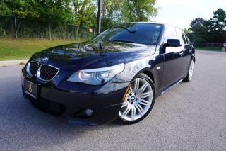 Used 2008 BMW 5 Series RARE / M-SPORT / 6 SPEED / NO ACCIDENTS / HEADS UP for sale in Etobicoke, ON