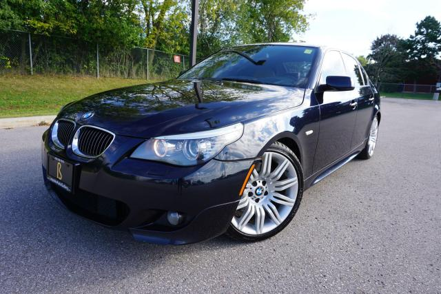2008 BMW 5 Series RARE / M-SPORT / 6 SPEED / NO ACCIDENTS / HEADS UP