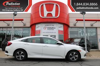 Used 2019 Honda Civic LX - NEW FRONT PADS AND ROTORS - for sale in Sudbury, ON