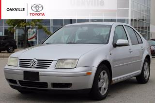 Used 2001 Volkswagen Jetta GLS Manual with Low Kilometers and Clean Carfax | SELF CERTIFY for sale in Oakville, ON