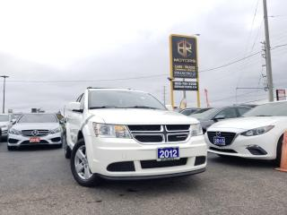 Used 2012 Dodge Journey Reverse cam | 5 Seater | FWD | SE Plus | Certified for sale in Brampton, ON