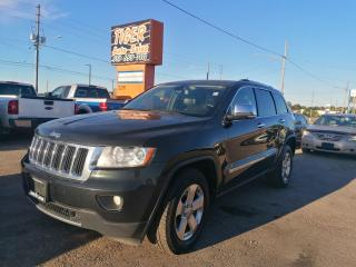Used 2012 Jeep Grand Cherokee Limited*5.7L HEMI*LEATHER*ROOF*NAVI*AS IS SPECIAL for sale in London, ON