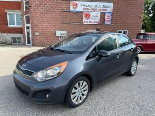 Used 2013 Kia Rio EX/SUNROOF/1.6/ONE OWNER/SAFETY INCLUDED for sale in Cambridge, ON