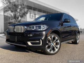 Used 2017 BMW X5 xDrive35i Enhanced! Nappa Seating! Carplay! HUD! Pano Roof for sale in Winnipeg, MB