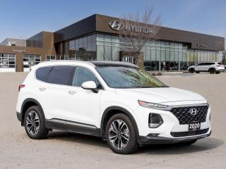 Used 2020 Hyundai Santa Fe Ultimate | Certified | 2.49% Available | for sale in Winnipeg, MB