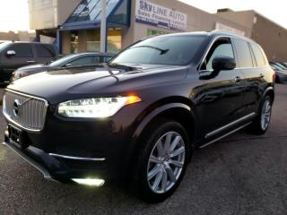 Used 2016 Volvo XC90 T6 Inscription ADAPTIVE CRUISE|PANO ROOF|CERTIFIED for sale in Concord, ON