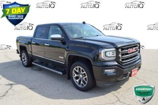 Used 2016 GMC Sierra 1500 SLT V-8 Crew Cab for sale in Grimsby, ON