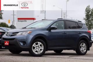 Used 2014 Toyota RAV4 LE, AWD, HEATED SEATS, BLUETOOTH, BACK-UP CAMERA, KEYLESS ENTRY, CLEAN CARFAX, AS-TRADED for sale in Orangeville, ON