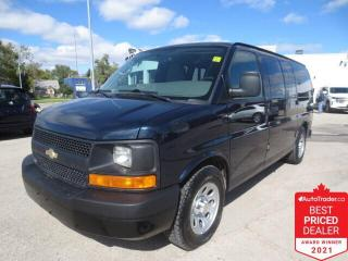 Used 2010 Chevrolet Express AWD 1500 Cargo - Low kms for sale in Winnipeg, MB