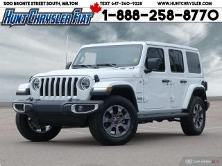 Used 2020 Jeep Wrangler Unlimited SAHARA | DUAL TOP | LEATHER | NAV | LED | SOUND | for sale in Milton, ON