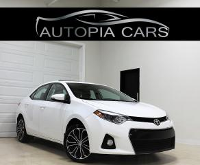 Used 2015 Toyota Corolla S REAR VIEW CAMERA SUNROOF 6 SPPED MANUAL for sale in North York, ON